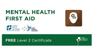 Sussex Chamber FREE Level 2 Certificate in Mental Health